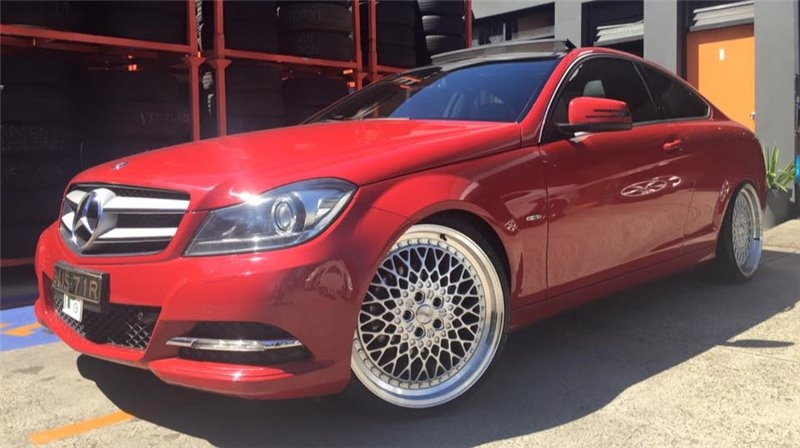 MERCEDES SSW LACE 20""