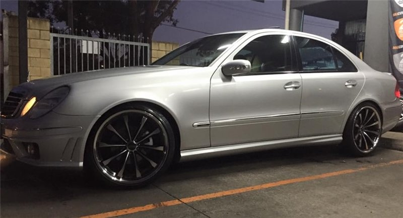 MERCEDES E55 SSW ASPIRE 20""